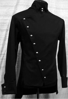 Hmm... Not sure where I would wear this one, but I love the military look.
