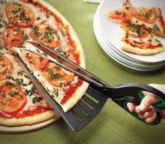 + Design de produto :     Uma espátula tesoura para pizza, muito criativo.