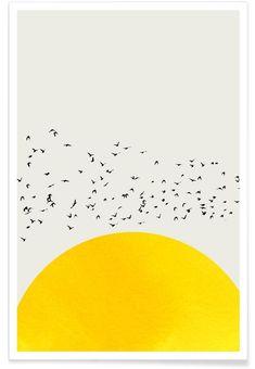 Buy Posters and Wall Art Prints Online Bird Poster, Poster Wall, Sonne Illustration, Art Prints Online, Art Mural, Grafik Design, Painting Inspiration, Wall Art Prints, Pop Art
