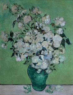 A Vase Of Roses ~ Vincent van Gogh