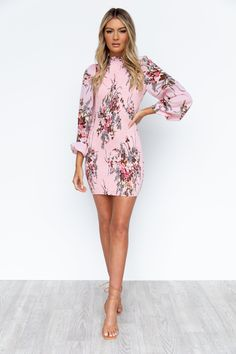 Eve Dress - Pink/Floral Pink Dress, Lace Dress, Strapless Dress, Date Outfits, Chic Outfits, Semi Formal Dresses, Womens Fashion Stores, Online Fashion Boutique, Shirred Fabric