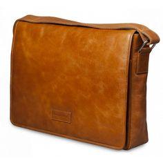 "Marselisborg Messenger Bag up to 14"" - Golden Tan"