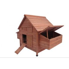 """New 62"""" Wood Hen Chicken Duck poultry Hutch House Coop Cage with 6 nesting boxes"""