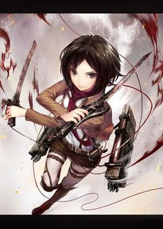 Browse Attack on titan Mikasa Ackerman collected by Sym and make your own Anime album. Manga Girl, Manga Anime, Anime Girls, Anime Art, Anime Neko, Female Characters, Anime Characters, Humanoid Creatures, Attack On Titan Art