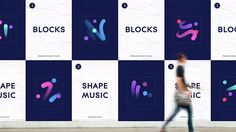 Branding and Digital Creative Agency Self Branding, Logo Branding, Branding Design, Dynamic Logo, Dynamic Design, Form Design, App Design Inspiration, Project Purple, Digital Creative Agency