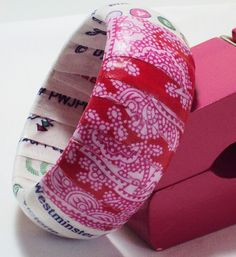 DIY Mod Podge Love Bangle