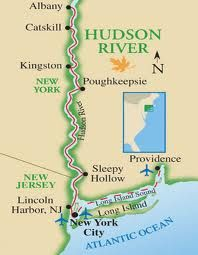 an introduction to the geography of the hudson river The river was named after henry hudson, who first sailed this river in 1609 today, the hudson river is a major united states waterway, which flows through the state capital of albany into new york city's harbor.