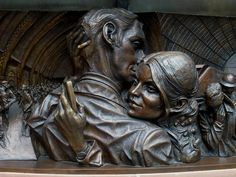 Paul Day, The Meeting Place, St Pancras Station