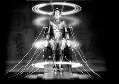 Fritz Lang's expressionistic epic METROPOLIS ('27)