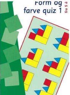 Form og fargequiz 1 inneholder øvelser hvor barnet skal gjenkjenne og sammenligne, analysere og kombinere.  Kan kun brukes med øvelsesesken.