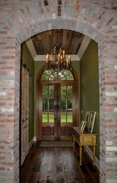 Entry/Foyer of modified Melrose plan The Melrose - Madden Home Design