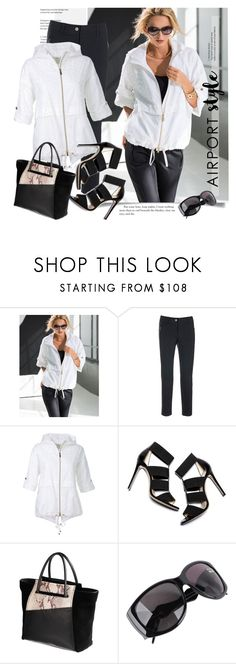 """""""Airport Style"""" by sella103 ❤ liked on Polyvore featuring Roberto Cavalli and airportstyle"""