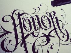 makes me want to learn typography & calligraphy....