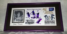 New Orleans Jazz Fest Irma Thomas Commemorative Cachet 1992 Ltd Run Framed by UrbanVintageChic on Etsy