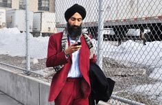 """Excellent photo of #jewelry designer and Edwin mentor, Waris Ahluwalia in New York for Mercedes Benz Fashion Week.      """"Greatness can not be learned nor can it be taught; it is discovered.""""  —Edwin O. IV © 2012    #Waris"""