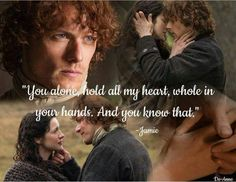Some of the best quotable lines are from Diana Gabaldon James Fraser Outlander, Outlander Quotes, Outlander Season 1, Outlander Book Series, Outlander 3, Sam Heughan Outlander, Outlander Wedding, Claire Fraser, Jamie And Claire