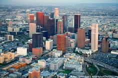 Aerial Photo of Downtown Los Angeles, California