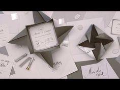 DIY Origami Envelopes For Your Wedding! - YouTube