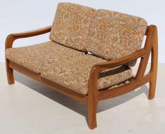 Vintage Retro Kiaat Two Seater Couch Cape Town - image 1 Two Seater Couch, Couches For Sale, Cape Town, Love Seat, Retro Vintage, Armchair, Image, Furniture, Home Decor