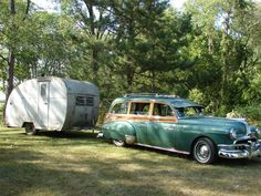 Classic autos and trailers