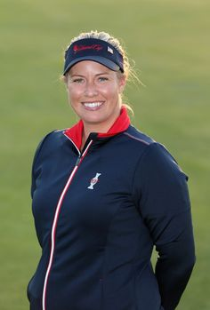Brittany Lincicome of the United States poses for a portrait following the announcement of the 2013 Solheim Cup Europe and USA Teams at The Old Course on August 4, 2013 in St Andrews, Scotland.#SC13
