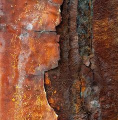 the Man Cave: Painting Rust Effects