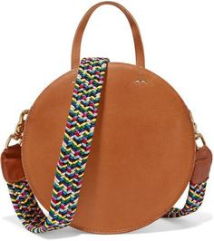 Clare V. - Alistair Small Leather Shoulder Bag - Tan