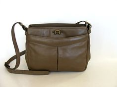 Hey, I found this really awesome Etsy listing at https://www.etsy.com/listing/175718055/etienne-aigner-sage-brown-leather-purse