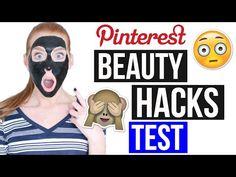 5 PINTEREST BEAUTY HACKS GETESTET: Nie wieder Mitesser- Maske! | LaurenCocoXO…