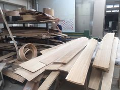 Wood cutting production