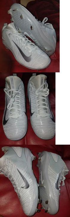 766316c1b69a Mens 159059: Nike Trout 3 Pro Metal Baseball Cleats Wolf Grey Silver Sz 9 (