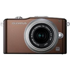 Olympus PEN E-PM1 12.3MP Interchangeable Lens Camera with CMOS Sensor, 3-inch LCD and 14-42mm II Lens (Brown) - http://electmecameras.com/camera-photo-video/digital-cameras/compact-system-cameras/olympus-pen-epm1-123mp-interchangeable-lens-camera-with-cmos-sensor-3inch-lcd-and-1442mm-ii-lens-brown-com/