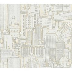York Wallcovering Beige Book Great Expectations Wallpaper RB4210