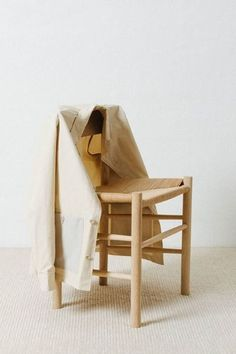 While Mogensen's Chair is reminiscent of Shaker furniture, its simple expression and use of materials reflect Mogensen's personal quest for design purity. Here featured by Norse Projects. Shaker Furniture, Norse Projects, Nordic Home, Wishbone Chair, Traditional, The Originals, House Styles, Simple, Interior