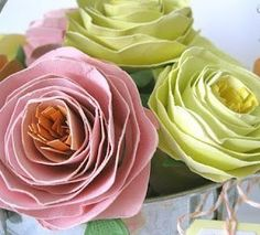 НАША СТРАНА МАСТЕРОВ: Розы из бумаги