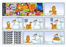 Garfield   Daily Comic Strip on January 15th, 2017
