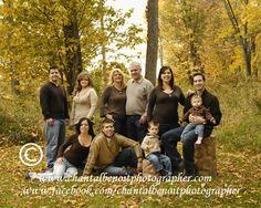 Family Fall Photo at Petrie Island.    http://chantalbenoitphotographer.com/