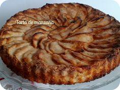 Tarta de manzana | www.entrehilosyalgomas.blogspot.com.es