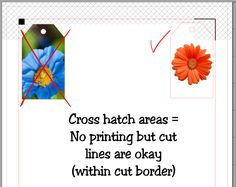 What do those cross hatch marks mean in the Silhouette Studio Software?  NOW I KNOW!