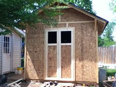 Build your own workshop from the ground up! Most of my photos have detailed notes, so check them out. This is the Instructable for my Workshop Video Tour 2013. ...