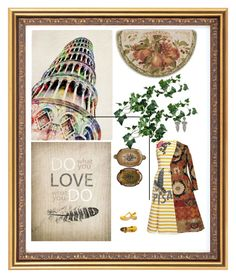 """""""Italy is Pisa"""" by oxana-ferrari ❤ liked on Polyvore featuring Bacova, Dolce&Gabbana, Etro and Swedish Hasbeens"""