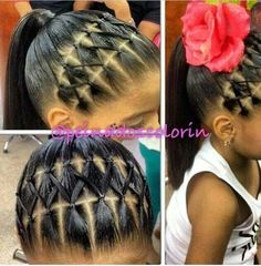 Ponytail hairstyles for little girls… Kids hairstyles. Ponytail hairstyles for little girls… Kids hairstyles. Ponytail hairstyles for little girls www. Super Cute Hairstyles, Lil Girl Hairstyles, Trendy Hairstyles, Braided Hairstyles, Black Hairstyles, Short Haircuts, Rubber Band Hairstyles, Hairstyles Pictures, Hairstyles 2016