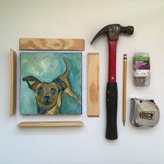 framing DIY | year of creative habits