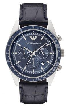 Reloj Emporio Armani cronógrafo Tazio hombre AR6089