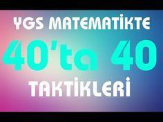 Matematikçilerin Sık Kullandığı 15 Matematik Hilesi - YouTube