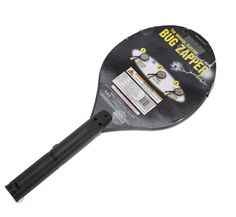 NEW Zap Master The Original Electric Hand Held Bug Zapper, Black, Kills Insects #ZapMaster