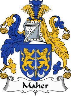 Maher - Coat of Arms