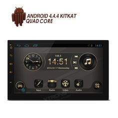 Radios, Tablet Ui, Car Sounds, Multi Touch, Accessories Online, Android 4, Operating System, User Interface, South Africa