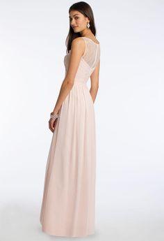a913ef72e09f Compre 2016 Vestidos De Dama De Honor De Gasa Larga Del País De Gasa De  Encaje
