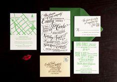 Wedding Invitation Designers –Ladyfingers Letterpress | Oh So Beautiful Paper